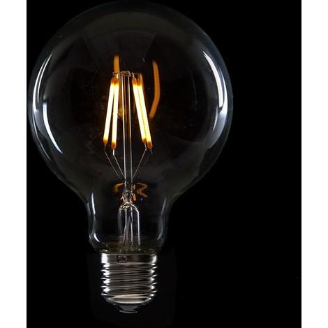 Bombilla de LEDs Filamento Vintage G95 E27 4W 400Lm Brielle [WO-LF-G95-E27-4W-WW] | Blanco Cálido (WO-LF-G95-E27-4W-WW)