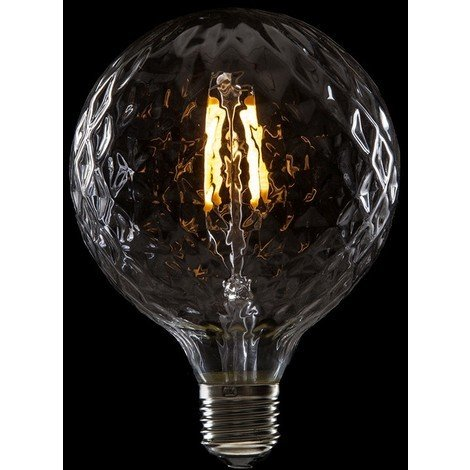 Bombilla de LEDs Filamento Vintage G95 E27 4W 400Lm Delilah [WO-LF-G95PI-E27-4W-WW] | Blanco Cálido (WO-LF-G95PI-E27-4W-WW)