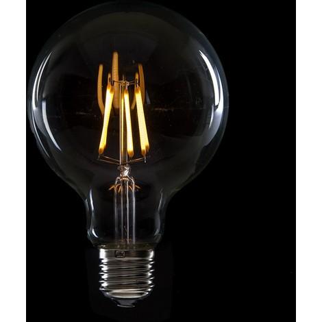 Bombilla de LEDs Filamento Vintage G95 E27 6W 600Lm Isla [WO-LF-G95-E27-6W-WW] | Blanco Cálido (WO-LF-G95-E27-6W-WW)