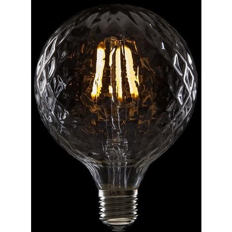 Bombilla de LEDs Filamento Vintage G95 E27 6W 600Lm Katherine [WO-LF-G95PI-E27-6W-WW] | Blanco Cálido (WO-LF-G95PI-E27-6W-WW)