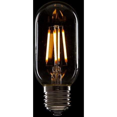 Bombilla de LEDs Filamento Vintage T45 E27 4W 400Lm [WO-LF-T45-E27-4W-WW] | Blanco Cálido (WO-LF-T45-E27-4W-WW)