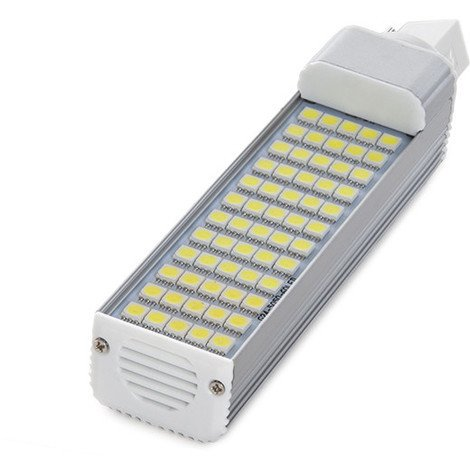 Bombilla de LEDs G24 60 X SMD5050 12W 1000Lm 30.000H | Blanco Cálido (CA-HLG24-12W-CW)