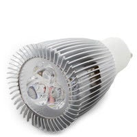 Bombilla de LEDs GU10 9W   Blanco Frío (SB-1027-CW)