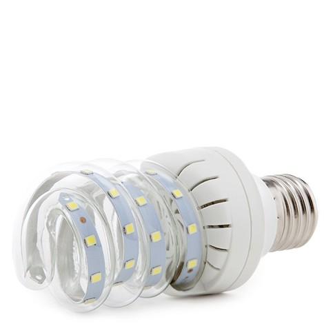 Bombilla de LEDs Tipo Cfl Espiral E27 7W 630Lm 30.000H