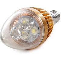 Bombilla de LEDs Vela E14 3W 12VAC/Dc 240Lm 30.000H