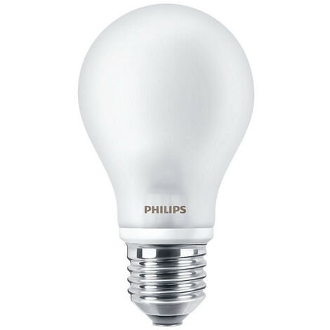 Bombilla de luz de la Gota de Philips Led E27 4.5 W 4000K INCALED40840