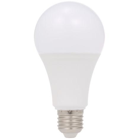 Bombilla de luz LED con sensor de movimiento por microondas, radar, E27, activada por movimiento