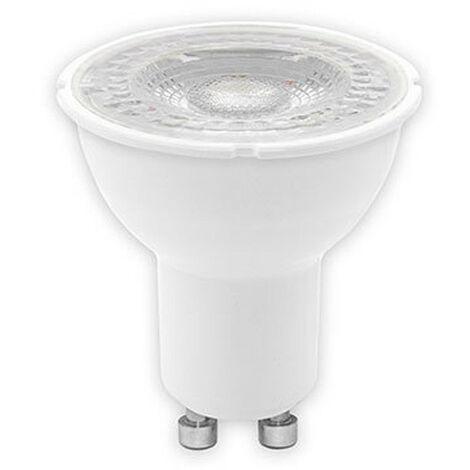 Bombilla de luz LED, Ge Tungsram 6W GU10 3000K dimmable de haz de 60° 93094501