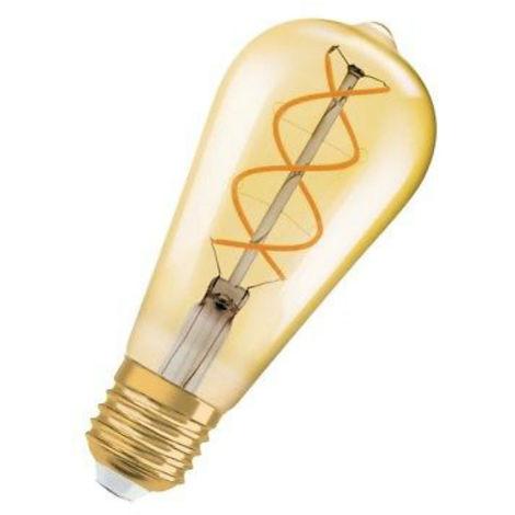 Bombilla de luz LED, Osram VINTAGE EDICIÓN DE 1906 5W E27 2000K LED092112BOX1
