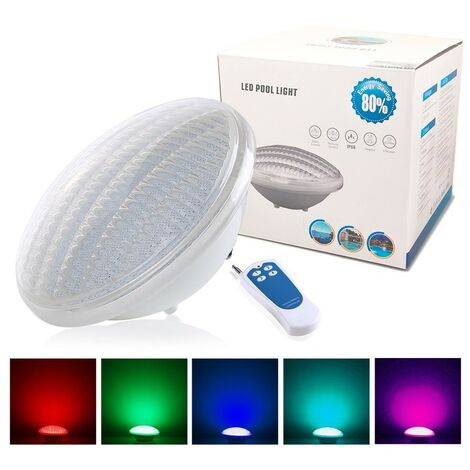 Bombilla de piscina LED PAR56 Color RGB 35W con 441 LEDs