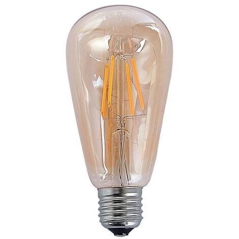BOMBILLA DECORATIVA ÁMBAR LED ANCHO: X LARGO: X ALTO: 14,5 CM
