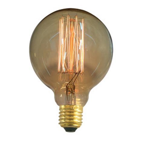 Bombilla decorativa Electro DH con forma de globo G95, casquillo E27, filamento de carbono, 80.674/35