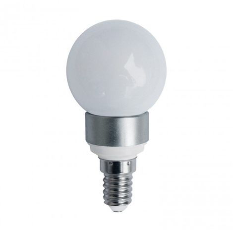 Bombilla Decorativa Esfera LED mate E14 5W 4000K