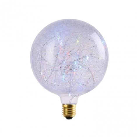 Bombilla decorativa Globo LED 2W G150 RGB