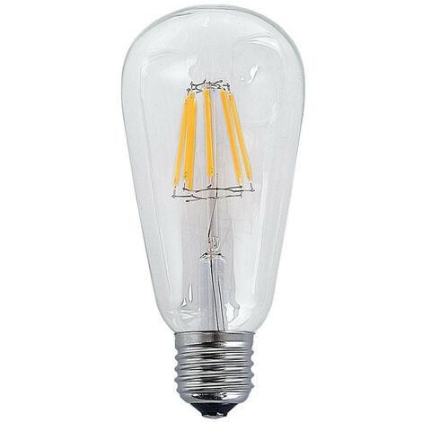 BOMBILLA DECORATIVA LED E27 6W X X 14,5 CM