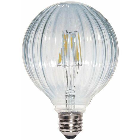 Bombilla Decorativa LED E27 Globo Clara (6W)