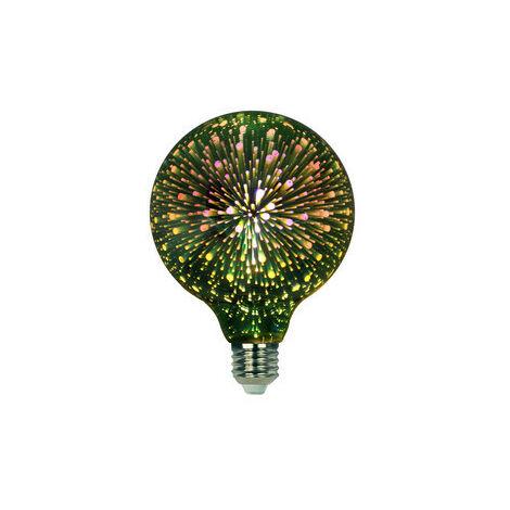 Bombilla Decorativa Led G95 3d 4w 230vac E27 Verde 81.171/3d/v