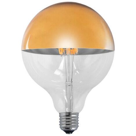 BOMBILLA DECORATIVA LED ORO E2 ANCHO: X LARGO: X ALTO: 16 CM