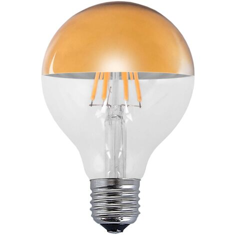 BOMBILLA DECORATIVA LED ORO E27 6W 2300K
