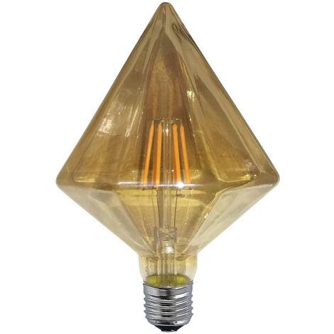 BOMBILLA DECORATIVA LED PIRÁMI X X 16,8 CM