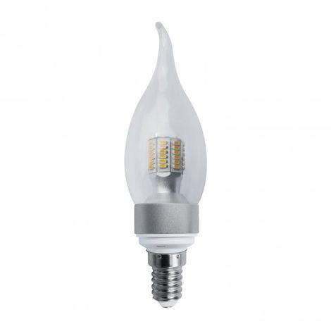 Bombilla Decorativa Vela LED E14 5W 3000K