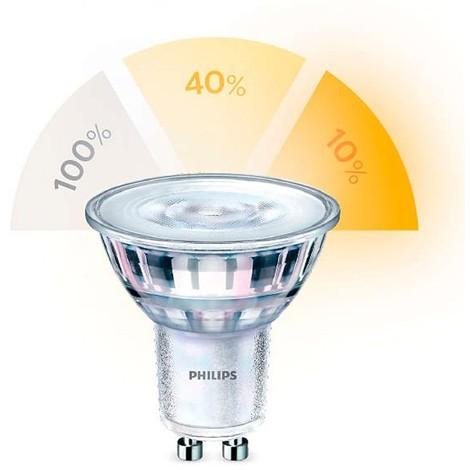 Bombilla dicroica LED GU10 5W regulable
