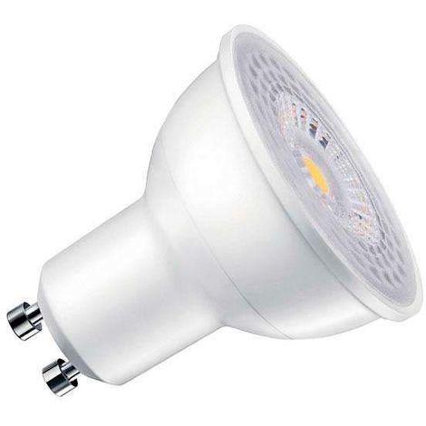 Bombilla dicroica LED GU10 COB, 100º, 8W