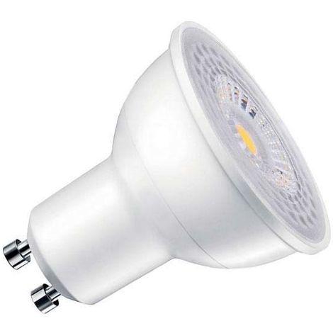 Bombilla dicroica LED GU10 COB, 45º, 8W, Regulable