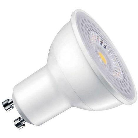 Bombilla dicroica LED GU10 COB Samsung, 45º, 6W, Regulable