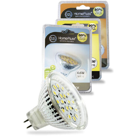 Bombilla dicroica LED MR16 4,6W 320lm