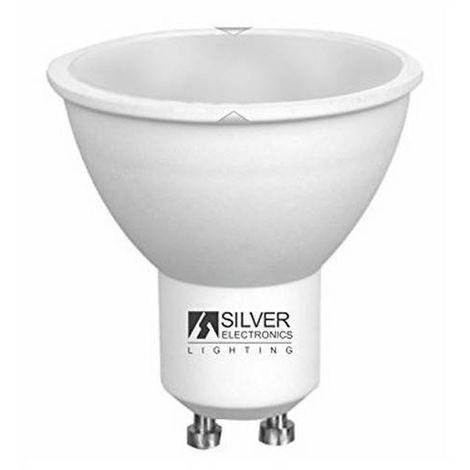 Bombilla Dicroica Silver Electronics ECO GU10 4W Luz cálida