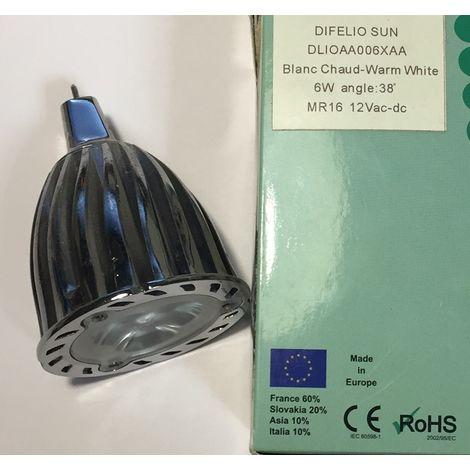 Bombilla Difelio dom DLIOAA006XAA LED GU5.3 6W MR16 12V 38