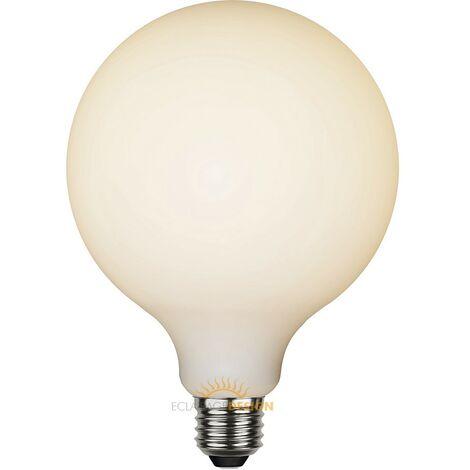 Bombilla E27 Deco Globe Satinado Regulable 5W | Blanco cálido 2700K