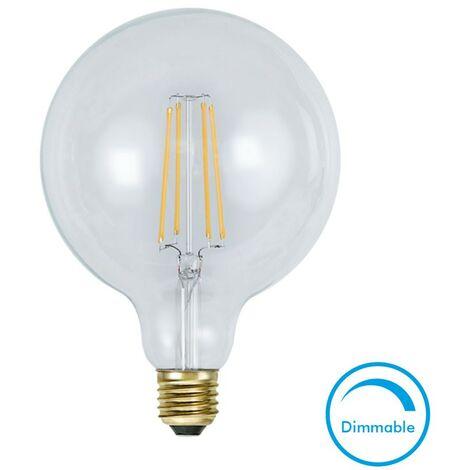 Bombilla E27 G125 Soft Glow 2100K Banco caliente 320LM regulable