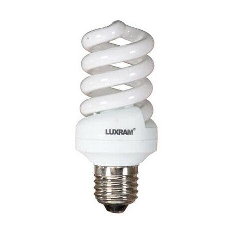 Bombilla Eco. E27 20w Miniespiral C luz cálida