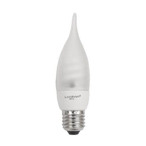 Bombilla Eco. E27 Bohemia 9w luz cálida - Blanco