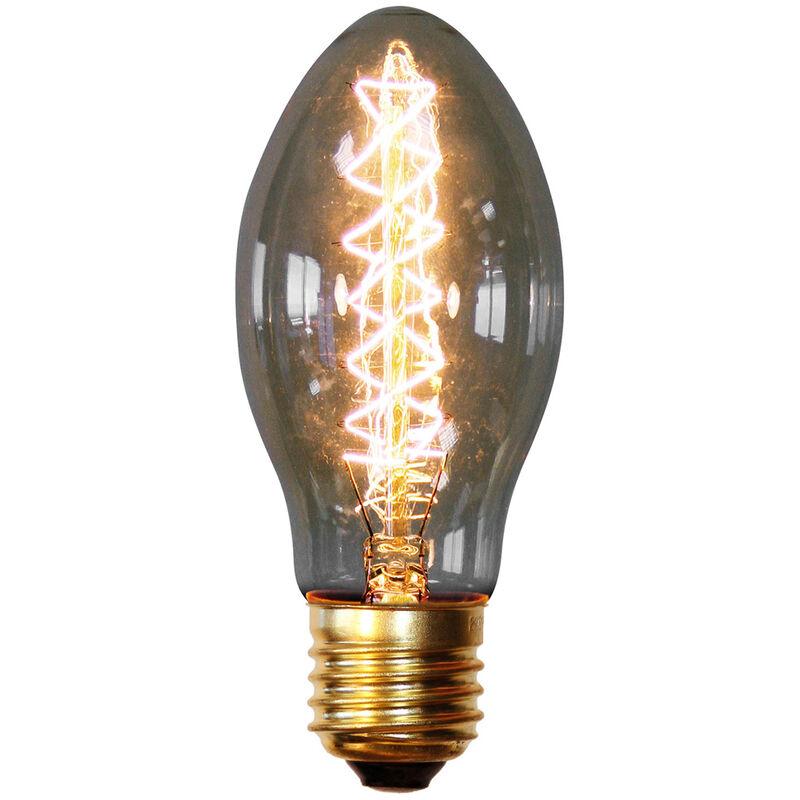 Bombilla Edison Candle Transparente
