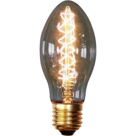Bombilla Edison Candle de filamentos Transparente