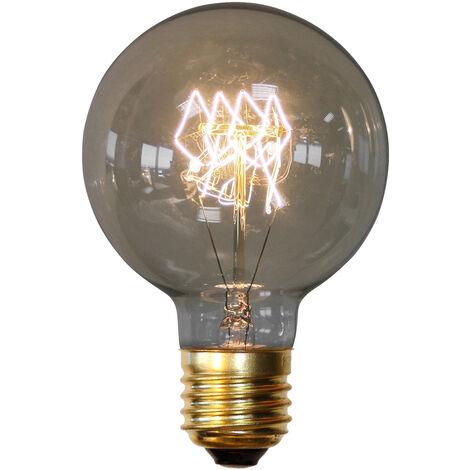 Bombilla Edison Globe de filamentos Transparente