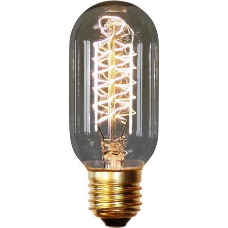 Bombilla Edison Valve de filamentos - 11cm Transparente