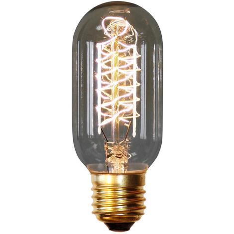 Bombilla Edison Valve de filamentos - 14cm Transparente