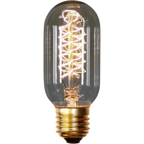 Bombilla Edison Valve de filamentos Transparente