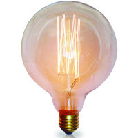 Bombilla Edison Vintage Globo E27 40W 2200°K 120Lm 125x175mm. (GSC 2001581)