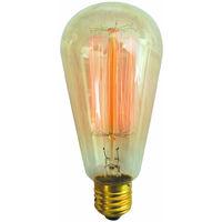 Bombilla Edison Vintage Pera 40W 2200°K 120Lm 60x142mm. (GSC 2001568)