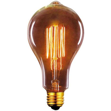 Bombilla Edison Vintage Standard E27 40W 2700°K 60x108mm. (F-BRIGHT 2603002)
