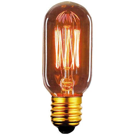 Bombilla Edison Vintage Tubular E27 40W 2700°K 120Lm 45x105mm. (F-BRIGHT 2603005)