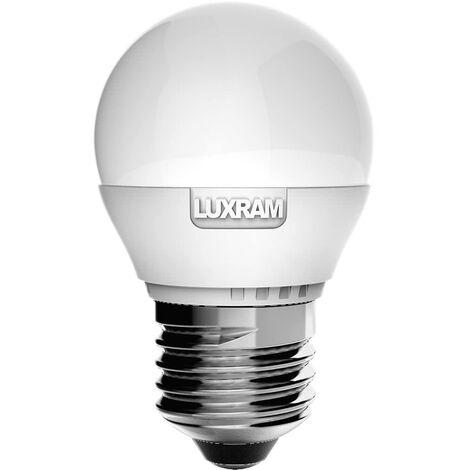 Bombilla esférica 4W led E27 serie value -Disponible en varias versiones