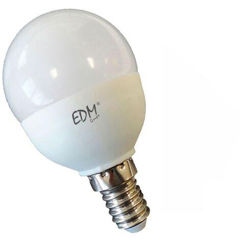 Bombilla esférica 5,5W Led Regulable EDM E14 -Disponible en varias versiones