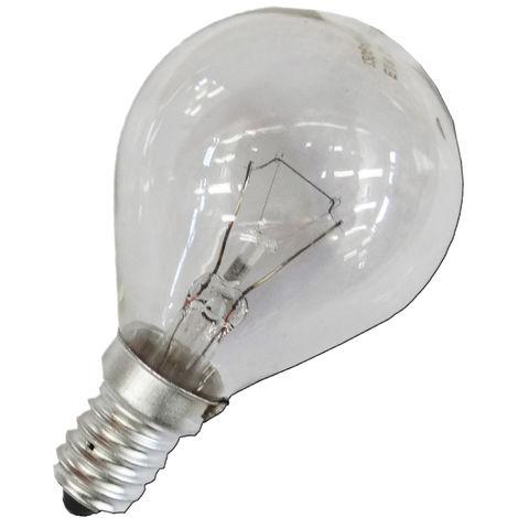 Bombilla esferica clara 25w e14 (solo uso industrial)