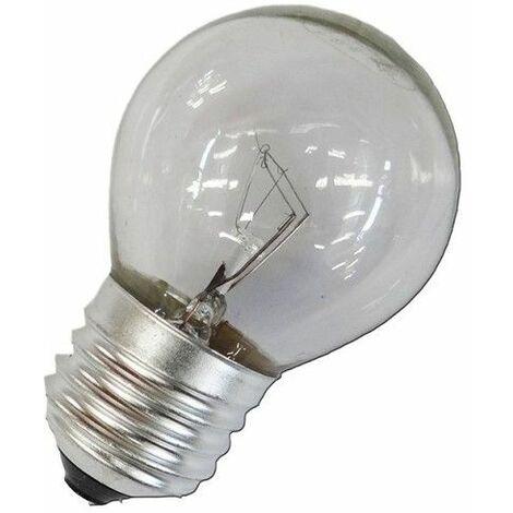 Bombilla incandescente esferica clara 40W E27 240V EDM 35122
